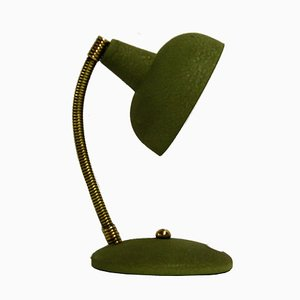 Lampe de Bureau Verte, Italie, 1950s