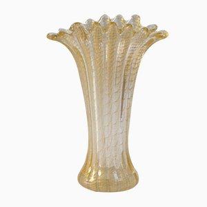 Mid-Century Vase aus Muranoglas