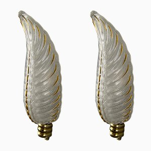 French Art Deco Sconces from Ezan, 1930s, Set of 2