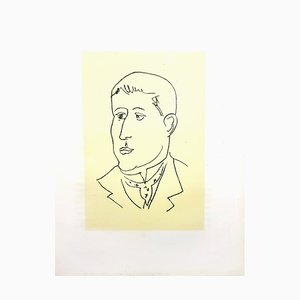 Apollinaire Lithograph by Henri Matisse, 1952
