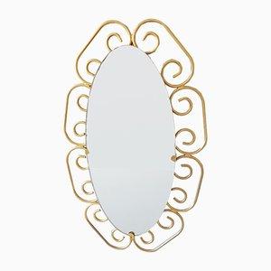 Specchio ovale, anni '60