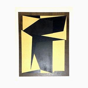 Lithografie von Victor Vasarely, 1954