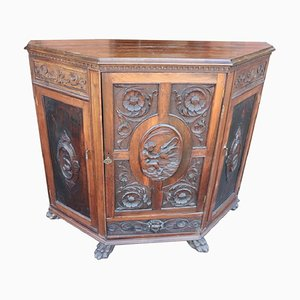 Antique Walnut Sideboard