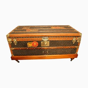 Vintage Steamer Trunk from Goyard