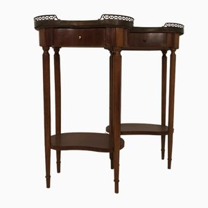 Antique Nightstands, Set of 2