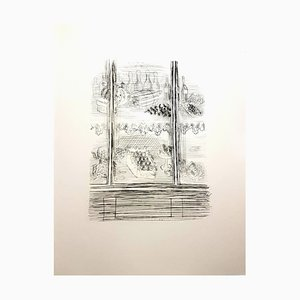 Plates Radierung von Raoul Dufy, 1940