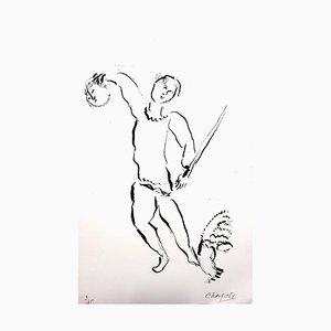 Litografia The Bible di Marc Chagall per Verve, 1956