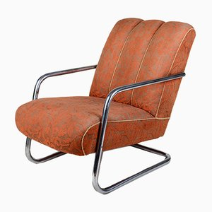 Bauhaus Armchair by Robert Slezak for Slezak, 1930s