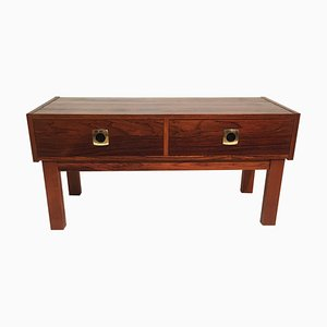 Small Vintage Swedish Rosewood Dresser, 1960s