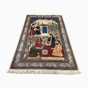 Orientalischer Vintage Teppich mit Muster, 1960er