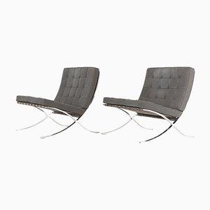 Vintage Sessel von Ludwig Mies van der Rohe für Knoll Inc. / Knoll International, 2er Set