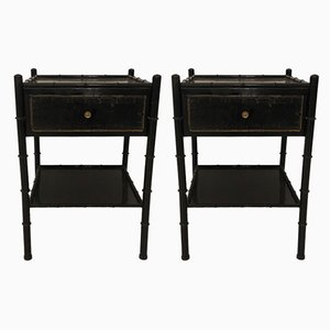 Vintage Nightstands, 1950s, Set of 2