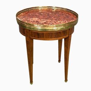 Mesa auxiliar estilo Luis XVI vintage pequeña