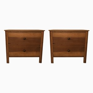 Tables de Chevet Antiques, Set de 2