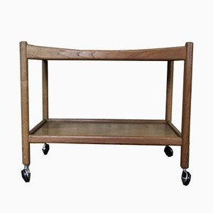 Mid-Century AT 45 Teak Trolley by Hans J. Wegner for Andreas Tuck