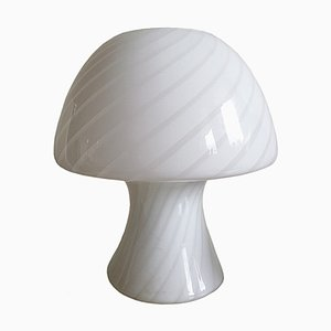 Lampe de Bureau Champignon en Verre de Murano, 1960s