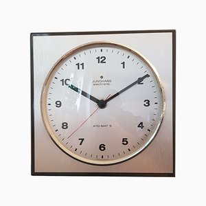 Mid-Century Ato-Mat S Wall Clock from Junghans