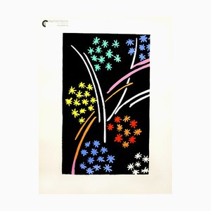Color Compositions Pochoir Print by Sonia Delaunay, 1930s