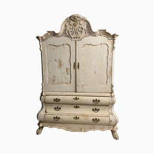 Antiker schwedischer Wäscheschrank, 1790er