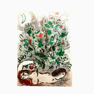 The Bible Lithograph by Marc Chagall, 1960s