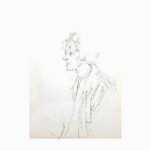 Lithographie par Alberto Giacometti, 1964