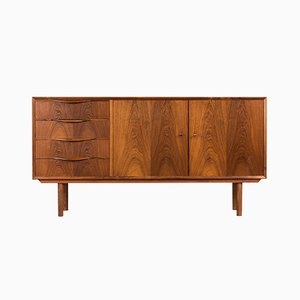Danish Rio Rosewood Sideboard by Erling Torvits for Klim Møbelfabrik, 1950s