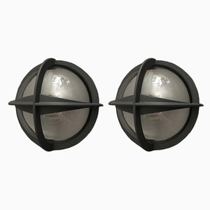 Sconces by Eva Koppel, Nils Koppel, Gert Edstrand for Nordisk Solar, 1970s, Set of 2