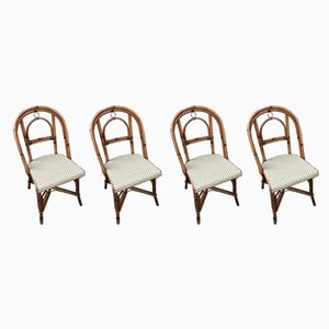 French Bistro Chairs, 1980s, Set of 4