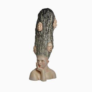 Sculpture Qui suis-je ? par Francesca Dalla Benetta, 2018