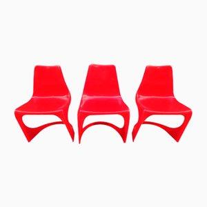 Beistellstühle von Steen Ostergaard für Cado, 1970er, 3er Set