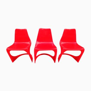 Side Chairs by Steen Ostergaard for Cado, 1970s, Set of 3