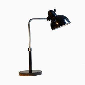 Lampada da tavolo vintage di Christian Dell per Kaiser Idell, anni '30