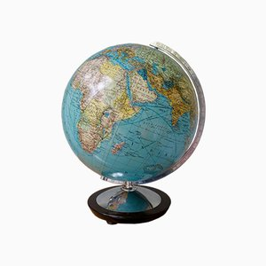 Beleuchteter Vintage Globus von Columbus, 1960er