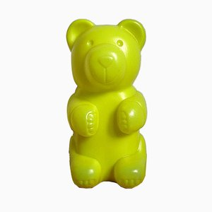 Vintage Yellow Bear Table Lamp from Messow, 1990s