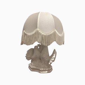 Lámpara de mesa italiana vintage de cerámica, años 70