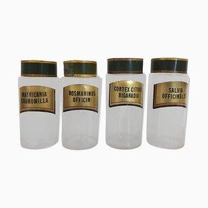 Antike Apotheker Flaschen, 2er Set