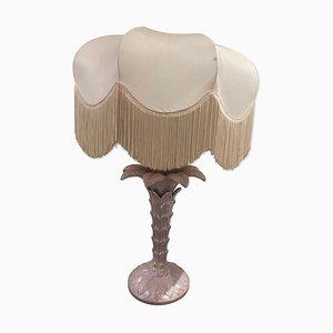 Lámpara de mesa italiana de cerámica, años 70