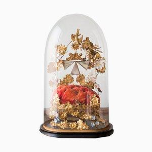 Globe de mariée francés antiguo