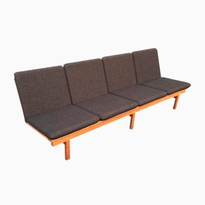 Modell 2219 4-Sitzer Sofa von Børge Mogensen für Fredericia, 1980er