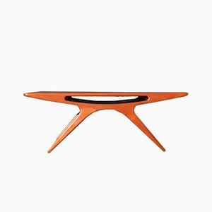 Tavolino da caffè The Smile di Johannes Andersen per CFC Silkeborg, anni '60