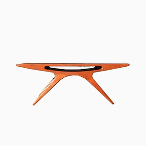 The Smile Coffee Table by Johannes Andersen for CFC Silkeborg, 1960s