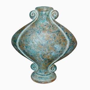 Jarrón mexicano vintage de cerámica