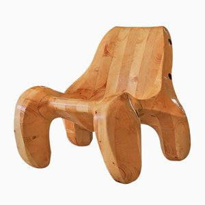 Solid Pine 104% Lounge Chair by Max Jungblut