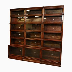 Large Antique Mahogany Cabinet from Globe Wernicke