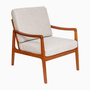 FD109 Sessel mit Gestell aus Teak von Ole Wanscher für France & Søn, 1960er