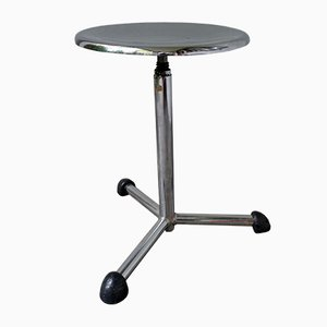 Industrial French Medical Stool from Maquet, 1950s