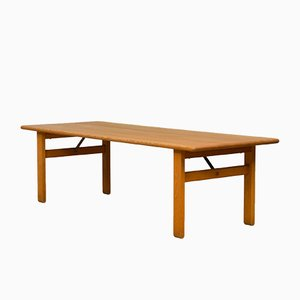 Large Oak A1906 Coffee Table by Børge Mogensen for Fredericia, 1960s