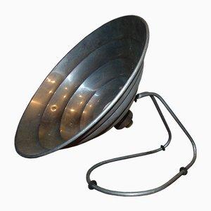Industrielle Mid-Century Tischlampe aus Aluminium