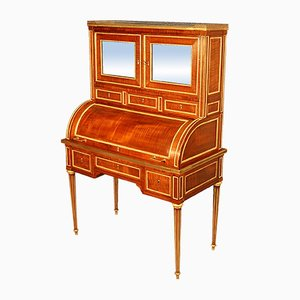 Antique Maple and Golden Bronze Secretaire