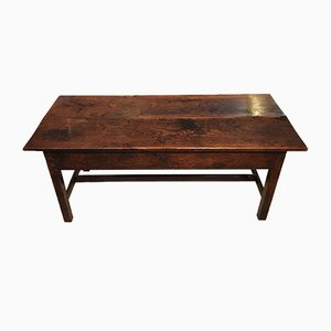 Antique 18th-Century Elm Coffee Table